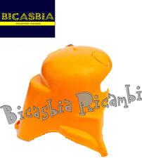 7763 CUFFIA MOTORE IN PLASTICA ARANCIONE VESPA 125 150 200 VESPA PX - ARCOBALENO