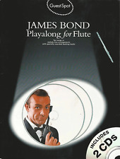 JAMES BOND For Flute Sheet Music Book & Playalong CDs Songbook Songs Shop Soiled