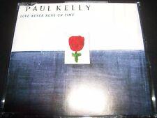 Paul Kelly – Love Never Runs On Time Australian CD Single