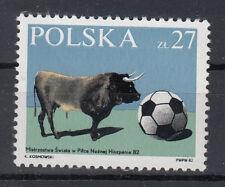 Polen Briefmarken 1982 Fussball WM Spanien Mi.2813** postfrisch