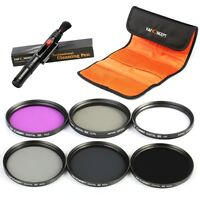 K&F Concept 40.5mm UV CPL FLD ND2 ND4 ND8 Neutral Density Lens Filter for Camera