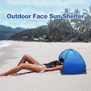 Portable Camping Beach Face Tent Mini Head Tent Lightweight Folding UV Sun Shelt