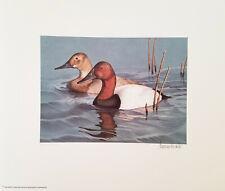 1985 North Carolina Duck Stamp Print S/N Limited Edition w/ Folder 3998