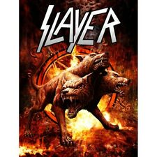 Slayer Poster Devil Dogs. A/P Xx/25 Limited Edition 2017 World tour. S/N