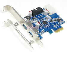 PCI Express  PCI-e to 2-Port USB 3.0 Controller Card Adapter w/ 20-Pin Connector