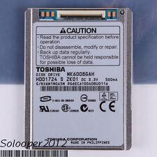 "Free shiping TOSHIBA 60 GB HDD 1.8"" 2MB 4200RPM MK6008GAH CE ZIP Hard Disk Drive"