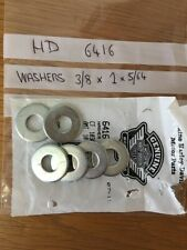 Harley Davidson Engine mount washers ? x 7 , 3/8 x 1 x 5/64 , See below