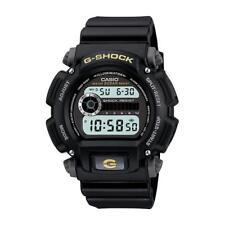 Casio Men's Calendar Day/Date G-Shock Watch w/Black Case Digital Dial and Resin