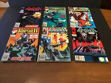 Lot of 6 Marvel Comics THE PUNISHER Magazines