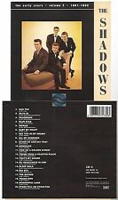 THE SHADOWS the early years volume 2 CD ALBUM pressing 1991