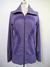 LULULEMON In Stride Jacket Heathered Concord Grape purple size 6 WORN ONCE