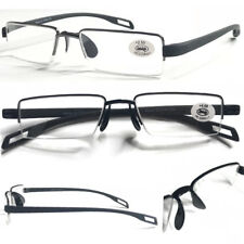 L242 Quality Smart Semi Rimless Reading Glasses Comfort TR90 Arm&Saddle Nose Pad