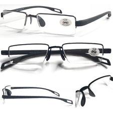 L242 Superb Quality Semi Rimless Reading Glasses/Saddle Nose Pad/TR90 Arm Design
