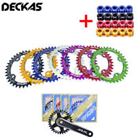 DECKAS 104mmBCD MTB Bike Chainring Narrow Wide Mountain Chain ring 32/34/36/38T