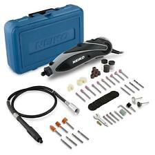 Neiko Tools ROTARY DIE GRINDER KIT w FLEX SHAFT, WORKS with MOST ALL DREMEL BITS