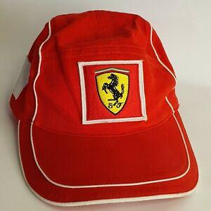 Puma Scuderia Ferrari Red Formula One F1 Racing Cap Cotton Snap Back Hat