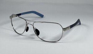 Maui Jim Guardrails Silver/Blue Sunglasses MJ327-17 58[]17-130 Frame Only