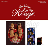 PRE-ORDER RED VELVET [ LA ROUGE ] OFFICIAL 3rd CONCERT PHOTO STORY BOOK PACKAGE