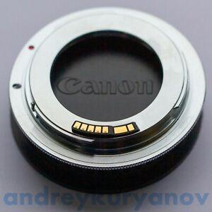 M42–Canon chromium-plated+Dandelion chip programmable original. All Canon EF.