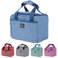 Thermal Insulated Lunch Bag Cool Bag Picnic Adult Kids Lunch Box Food Storage