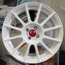 "Kit 4 Jantes Alliage 7,5jx17"" pour Fiat 500 ABARTH, ESSEESSE, 595, 695, Cabrio W"
