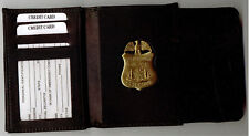 Philadelphia Police Detective Badge Recessed Cut-Out DL/CC/ID/Money Wallet