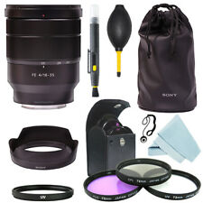 Sony Vario-Tessar FE 16-35mm f/4 ZA T * OSS Lente + Kit de Filtro + Kit de Accesorios
