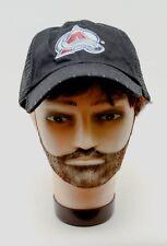 Avalanche Colorado Snapback Hat Cap NHL Ice Hockey Molson Black