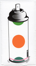 MR CLEVER ART CONTEMPORARY DOTS SPRAY CAN 3 Street Art Graffiti Pop Op Art Deco