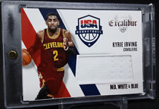 2014-15 Panini Excalibur Red, White & Blue USA Kyrie Irving JERSEY