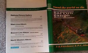 ROUND THE WORLD ON THE NARROW GAUGE P BWHITEHOUSE & P C ALLEN HARDBACK