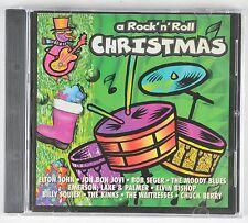 A Rock n Roll Christmas CD 1994 11 Tracks Elton John Jon Bon Jovi Moody Blues