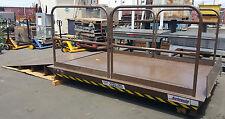 Autoquip 7'x10' Scissor Dock Lift - 7,000lb Capacity w/ Approach Ramp