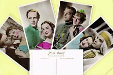 PICTUREGOER - Film Partners PC Series 1930s Colour/TInted Postcards #241 to #330