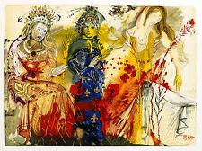 The Four Seasons by Salvador Dali A3 Art Print Surrealism Wall Art