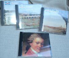 LOT OF 4 CD'S HANDEL & MOZART, EUC