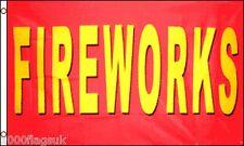 Fireworks Display Banner Pos 5'x3' Flag