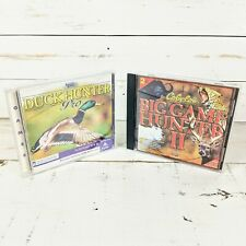 Cabela's Big Game Hunter 2 & Duck Hunter Pro PC CD-ROM Windows 95/98 (2 Games)