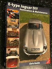 E-Type Jaguar DIY Maintenance & Restoration Manual restore rebuild Chriss Rooke