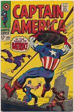 Captain America #105 Marvel Comics 1968, Batroc, Stan Lee, Jack Kirby [B]