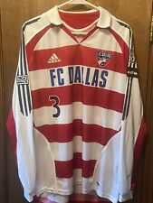 FC Dallas Carey Talley 2005 Game Used Worn Long Sleeve Home Jersey