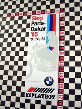 BMW Paris Dakar R80 GS Winner Sticker 1981 1985 1983 1984