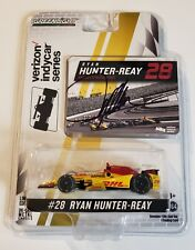 Greenlight 2017 Indy 500 Ryan Hunter Reay #28 Autographed Signed 1:64 Scale COA