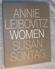 ANNIE LEIBOWVITZ WOMEN SUSAN SONTAG ESSAY FIRST EDITION COPYRIGHT 1999