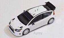 IXO MDCS001, CITROEN C4 WRC, WHITE PLAIN BODY VERSION 2010, 1:43 SCALE