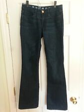 Earnest Sewn Keaton jeans size 27 dark wash boot cut