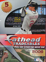 FATHEAD Wall Decals MLB 2009 Baseball Trading Cards Locker Computer Stickers