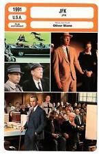 FICHE CINEMA : JFK - Costner,Oldman,Lemmon,Stone 1991