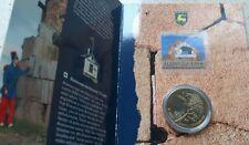 5 euros 2006 finlandia en cartera + sello