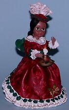 "Madame Alexander resin doll figurine ""Victorian Christmas"" #90671"